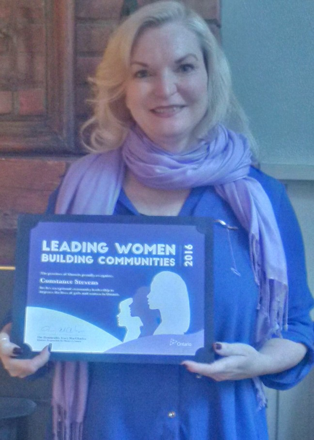 2016 Leading Women Building Communities Award Recipient